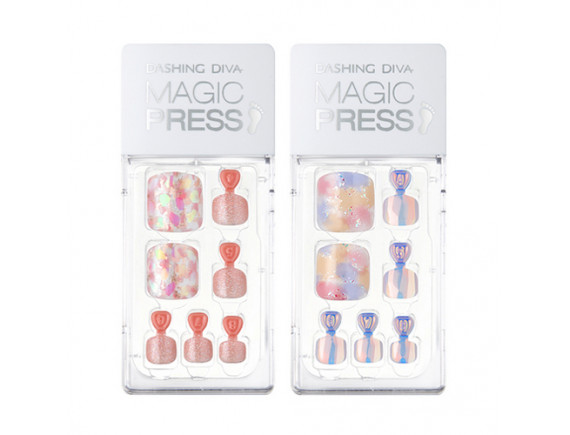 [ARITAUM] Dashing Diva Magic Press Toe Super Slim Fit - 1pack (4items)