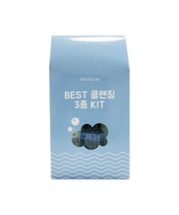 [ARITAUM_Sample] Best Cleansing 3 Kit Sample - 1pack (3items)
