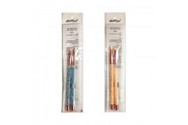 [ARITAUM_Sample] Geum Son Glitter Eye Brush Sample (Random Color) - 1pack (2pcs) No.132