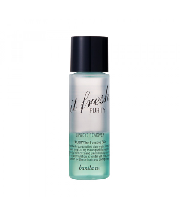 [BANILA CO._LIMITED] It Fresh Lip & Eye Remover Purity - 100ml(EXP 2021.05.29)