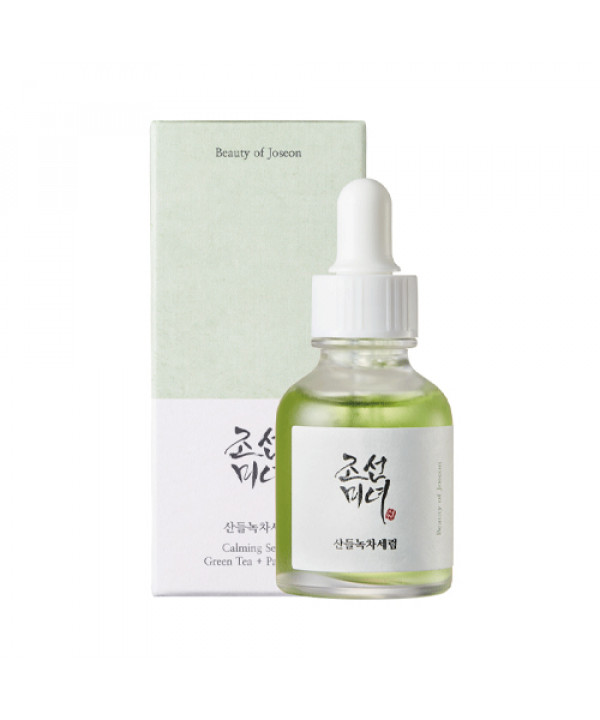 [BEAUTY OF JOSEON] Calming Serum Green Tea + Panthenol - 30ml