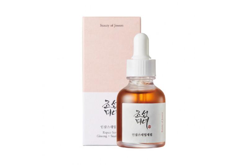 [BEAUTY OF JOSEON] Repair Serum Ginseng + Snail Mucin - 30ml