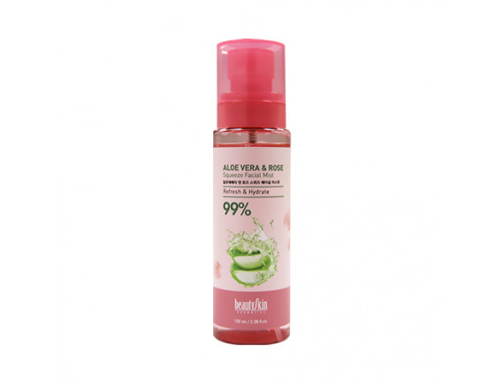 [BEAUTY SKIN] Aloe Vera And Rose Squeeze Facial Mist - 100ml
