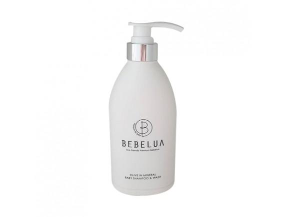 [BEBELUA] Olive In Mineral Baby Shampoo & Wash - 500ml