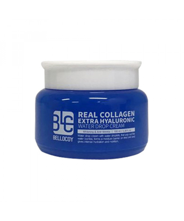 [BELLOCOY] Real Collagen Extra Hyaluronic Water Drop Cream - 100ml