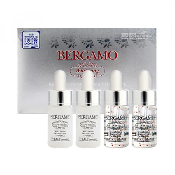 [BERGAMO] Snow White & Vita White Ampoule Set - 1pack (2item)