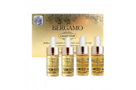 [BERGAMO] Luxury Gold Collagen & Caviar Ampoule Set - 1pack (2item)