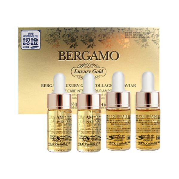 [BERGAMO] Luxury Gold Collagen & Caviar Ampoule Set - 1pack (2item)