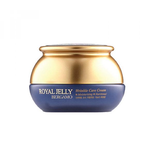 [BERGAMO] Royal Jelly Wrinkle Care Cream - 50g