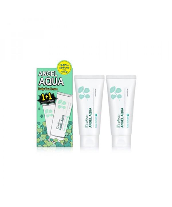 [BEYOND] Angel Aqua Daily Cica Cream 1+1 Special Edition - 1pack (150ml x 2pcs)