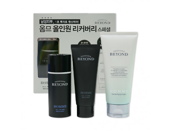 [BEYOND] Homme All In One Recovery Special Set - 1pack (3items)