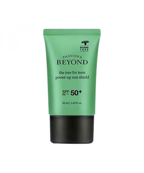 [BEYOND] The Tree For Men Power Up Sun Shield - 50ml (SPF50+ PA++++)