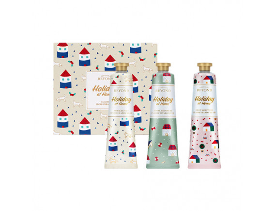 [BEYOND] Classic Hand Cream Gift Set (Holiday At Home) - 1pack (3items)