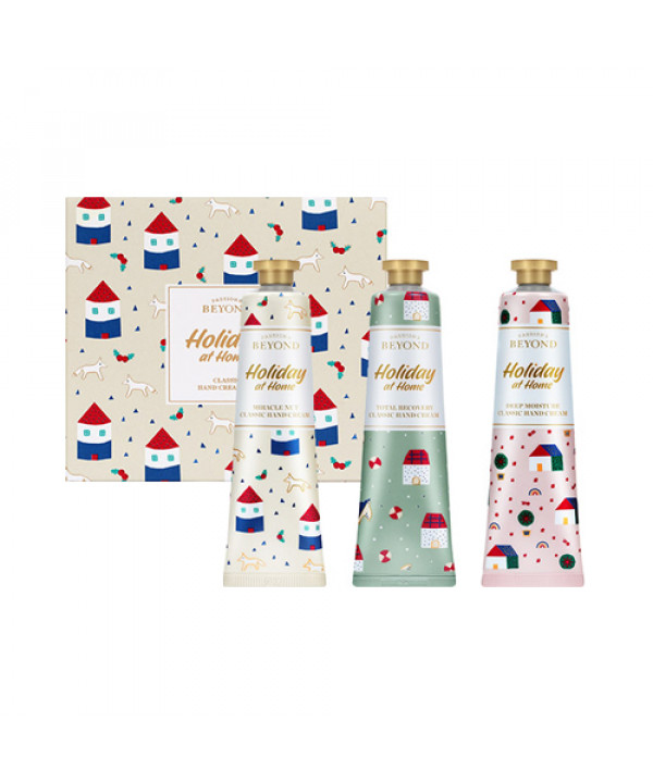 [BEYOND_50% SALE] Classic Hand Cream Gift Set (Holiday At Home) - 1pack (3items)