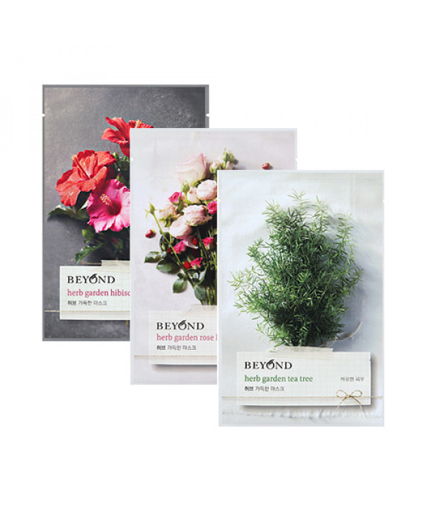 W-[BEYOND] Herb Garden Mask - 1pcs x 10ea
