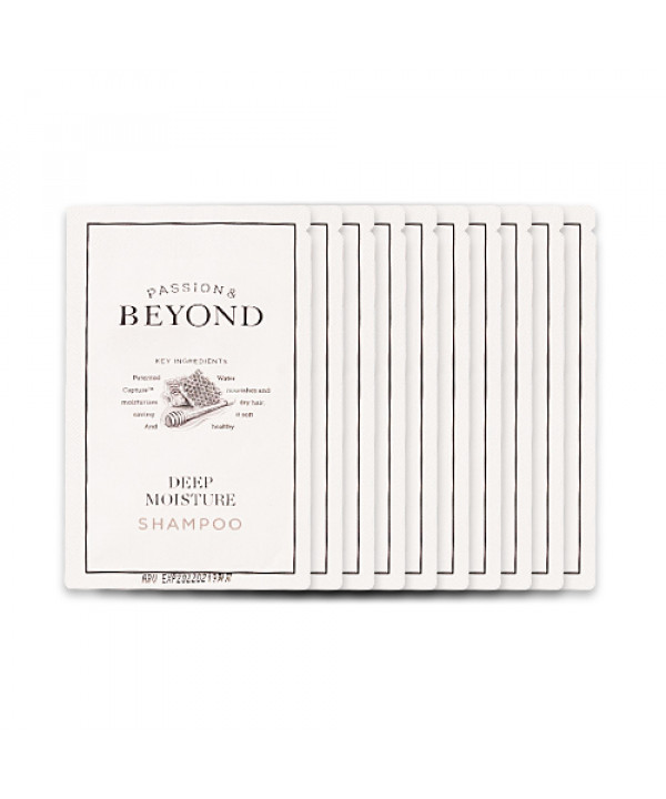 [BEYOND_Sample] Deep Moisture Shampoo Samples - 10pcs