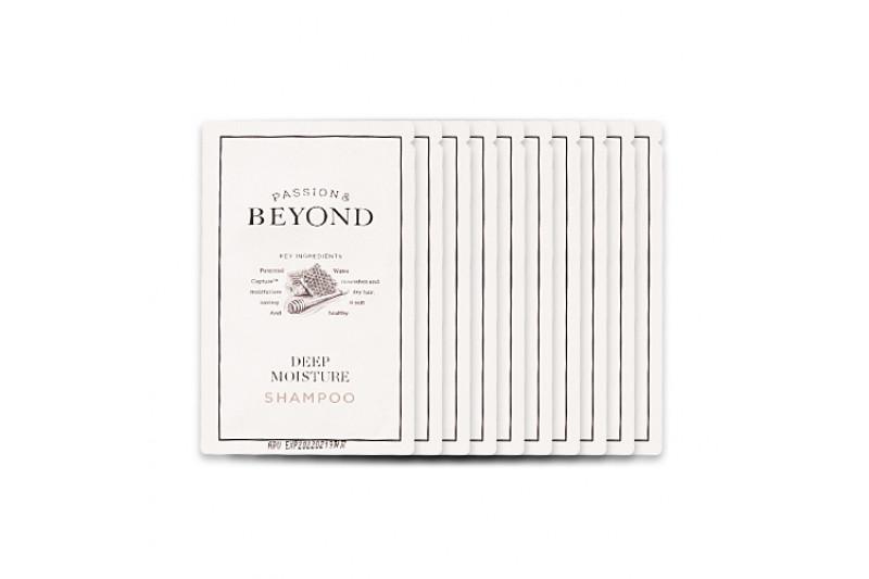 [BEYOND_Sample] Deep Moisture Shampoo Samples - 10pcs