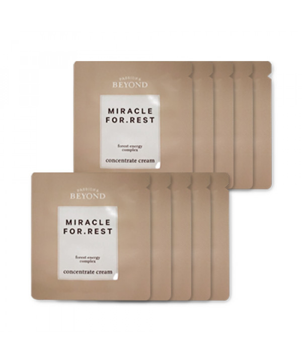 [BEYOND_Sample] Miracle For Rest Concentrate Cream Samples - 10pcs