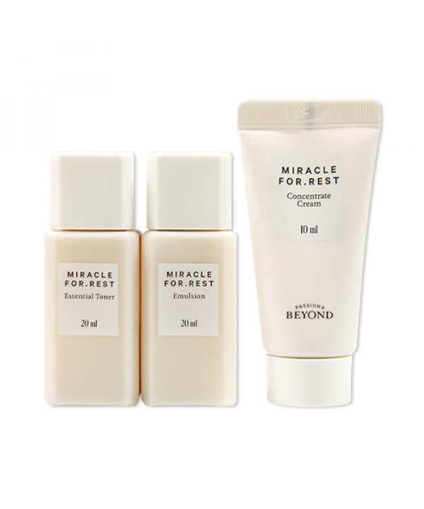 [BEYOND_Sample] Miracle For Rest Trial Kit Sample - 1pack (3items)