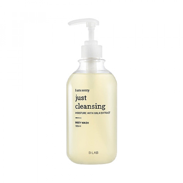 [B_LAB] I Am Sorry Just Cleansing Milk Nature Body Wash - 500ml