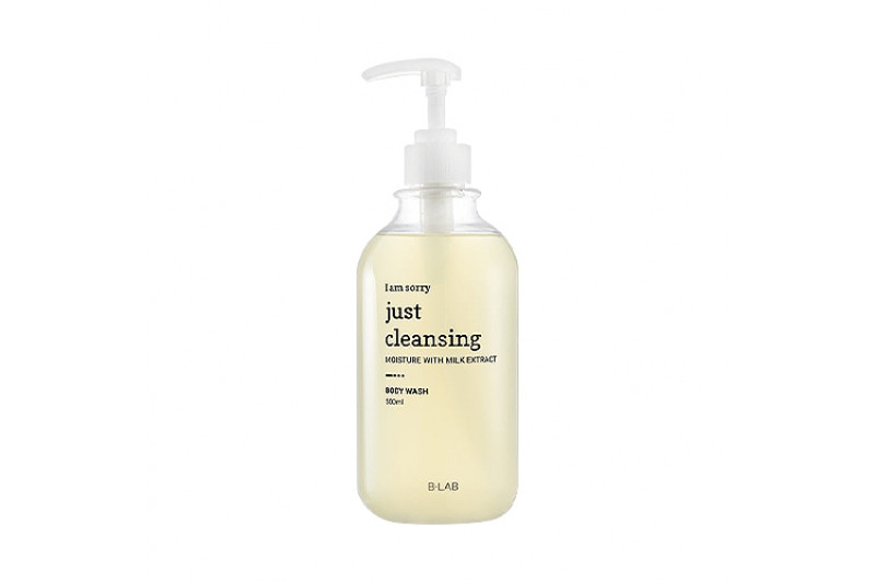 [B-LAB] I Am Sorry Just Cleansing Milk Nature Body Wash - 500ml
