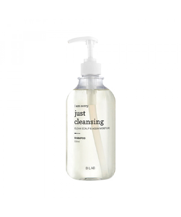 [B_LAB] I Am Sorry Just Cleansing Aqua Nature Shampoo - 500ml