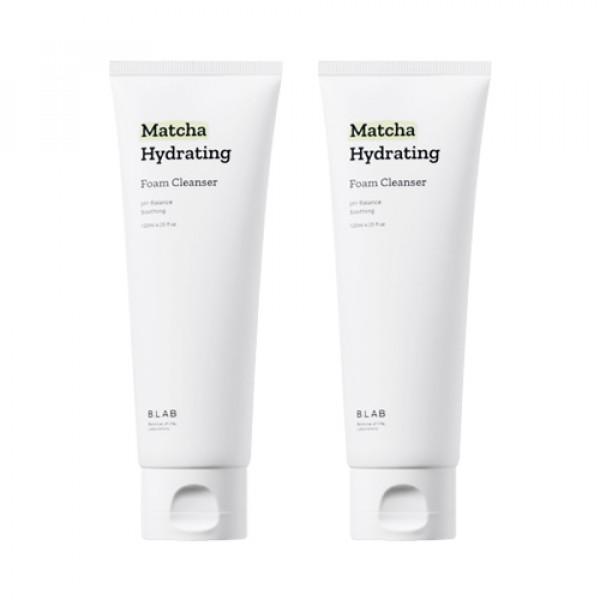 [B_LAB] Matcha Hydrating Foam Cleanser 2pcs - 120ml