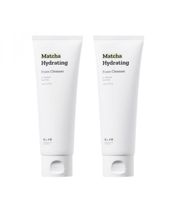 [B_LAB] 1+1 Matcha Hydrating Foam Cleanser - 120ml