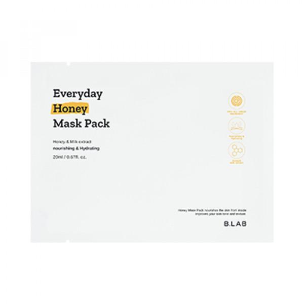 [B_LAB] Everyday Honey Mask Pack - 3pcs