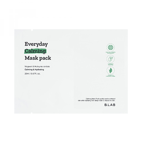[B_LAB] Everyday Calming Mask Pack - 3pcs