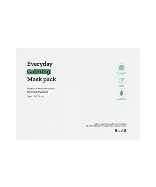 [B_LAB] Everyday Calming Mask Pack - 1pcs