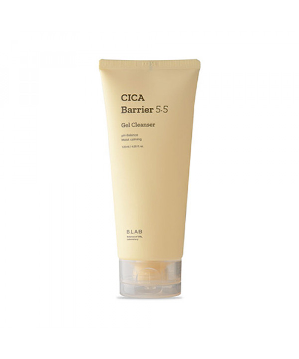 [B_LAB] Cica Barrier 5.5 Gel Cleanser - 120ml