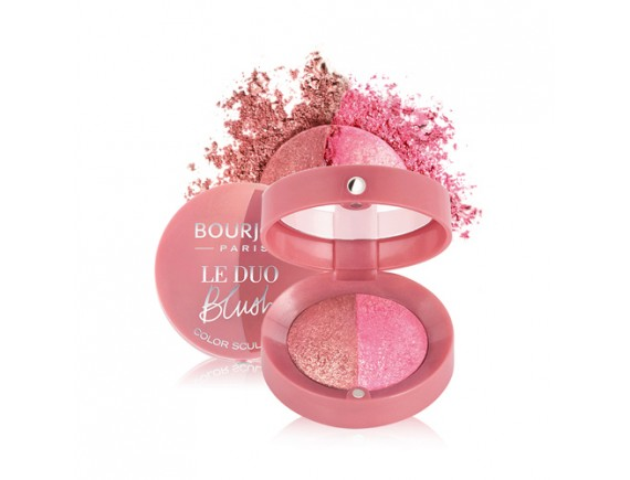 [BOURJOIS] Le Duo Blush Color Sculpting - 2.4g