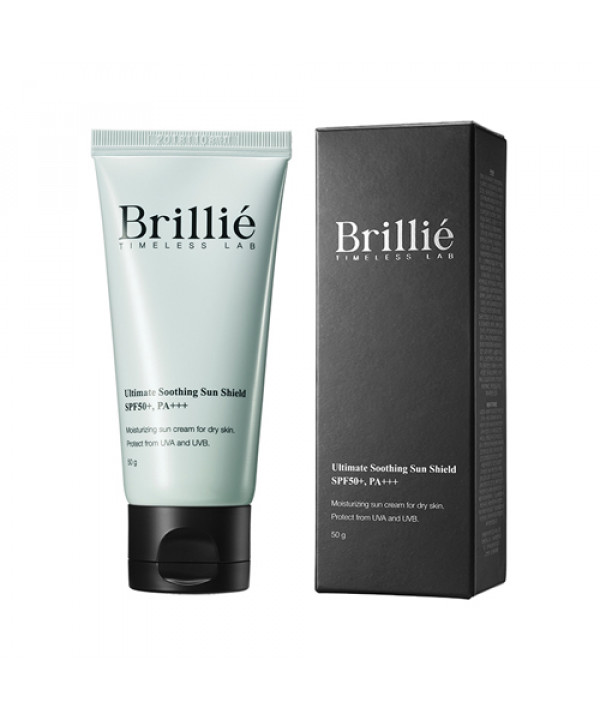 [BRILLIANT_LIMITED] Brillie Ultimate Sun Sheild - 50g (SPF50+ PA+++) No.Soothing (EXP 2021.03.11)