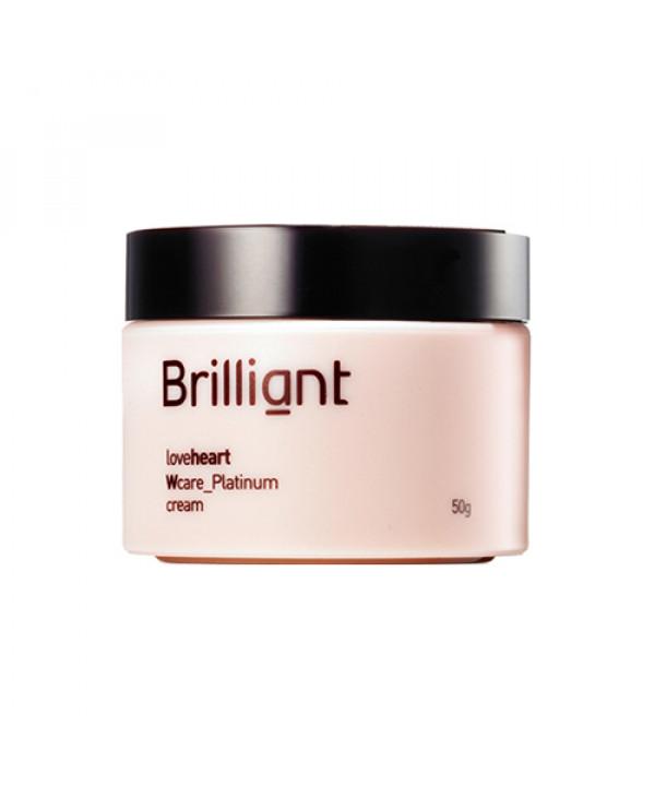 [BRILLIANT_LIMITED] Loveheart Wcare Platinum Cream - 50g (EXP 2021.04.12)