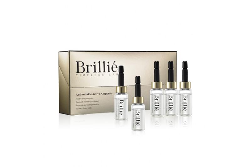 [BRILLIANT] Brillie Anti Wrinkle Active Ampoule - 1pack (10ml x 5pcs)