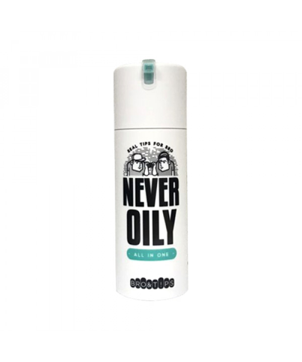 [BRO&TIPS] Never Oily All In One - 120ml