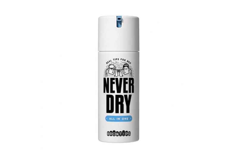 W-[BRO&TIPS] Never Dry All In One - 120ml x 10ea