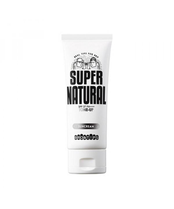 [BRO&TIPS] Super Natural Tone Up Sun Cream - 70ml (SPF37+ PA++++)