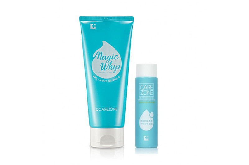[CARE ZONE] Doctor Solution Nordenau Water Magic Whip Cleansing Foam Set - 200ml (+1item)