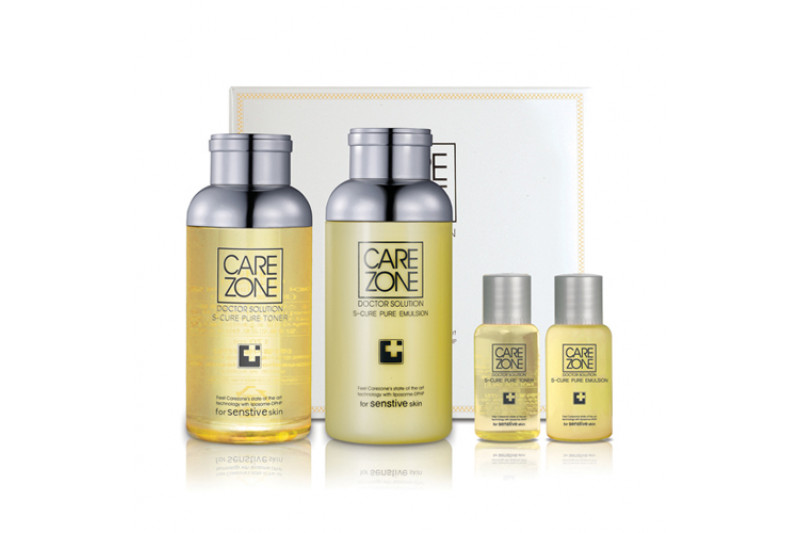 [CARE ZONE] Doctor Solution S Cure Set - 1pack (4items)