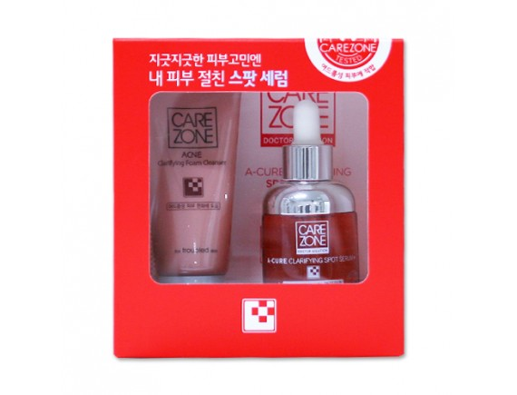 [CARE ZONE] Doctor Solution A Cure Clarifying Spot Serum Plus Set - 1pack
