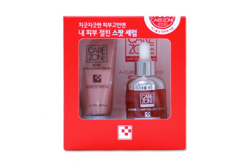 W-[CARE ZONE] Doctor Solution A Cure Clarifying Spot Serum Plus Set - 1pack x 10ea