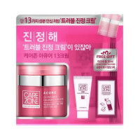 W-[CARE ZONE] Doctor Solution A Cure 13 Trouble Calming Cream Set - 1pack (3items) x 10ea