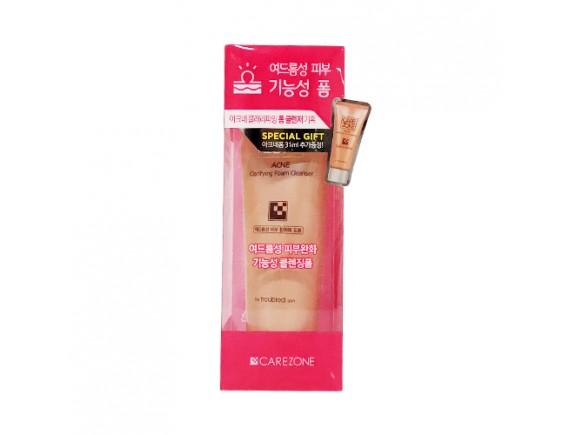 [CARE ZONE] Acne Clarifying Foam Cleanser - 130ml (+Gift)