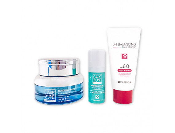 [CARE ZONE] Doctor Solution Nordenau Water Gel Cream Special Set- 1pcak (3items)