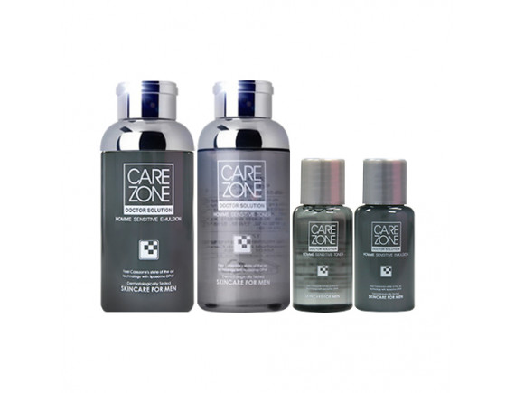 [CARE ZONE] Doctor Solution Homme Sensitive Special Set - 1pack (4items)