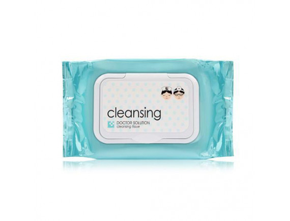 [CARE ZONE] Doctor Solution Cleansing Tissue - 1pack (60pcs)