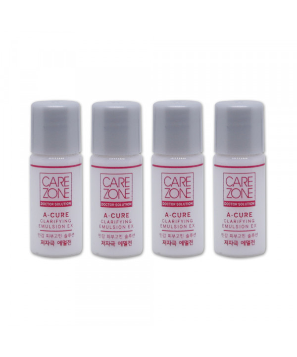 [CARE ZONE_Sample] Doctor Solution A Cure Clarifying Emulsion EX Samples - 4ea