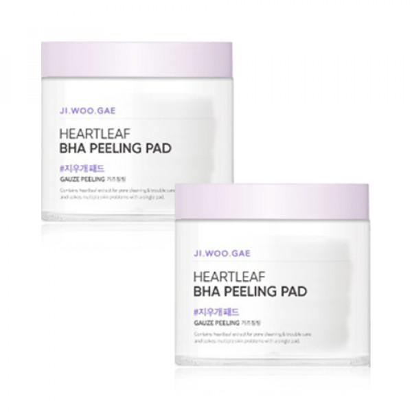 [CELIMAX] 1+1 Heartleaf BHA Peeling Pad - 1pack (60pcs)